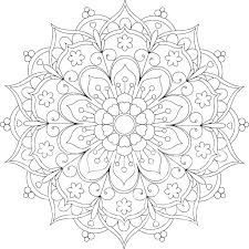 Free Printable Coloring Mandalas Free Printable Animal Mandala
