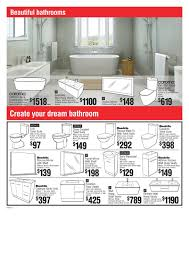 Bunnings Bathroom Vanity Bunnings Catalogue Online Warehouse Products February 2015 Page 11