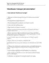 warehouse production supervisor inventory manager resume     warehouse production supervisor