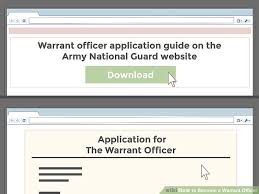 How To Become A Warrant Officer 12 Steps With Pictures