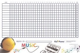 Star Behavior Chart For Kids Kid Pointz