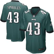 Sproles Nike Game Darren Midnight Youth Color Eagles Philadelphia Green Jersey Team|The Jewel Box Jewelers