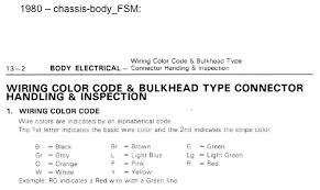 fj rear wiper motor wire color codes ihmud forum wiring color code body electrical page 13 2 in 1980 chassis body fsm