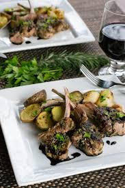 Barnsley chops are large, double chops that make a generous meal for one. Quick Easy Lamb Chops For Two What The Forks For Dinner