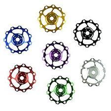 Wowobjects <b>1Pc 11T</b> MTB Bicycle Rear Derailleur Pulley <b>Jockey</b> ...