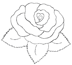Small Picture coloring pages flowers hearts heart with flower coloring pages