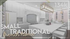 Bloxburg Small Traditional French Home Speedbuild Luxury House Plans House Decorating Ideas Apartments Home Building Design