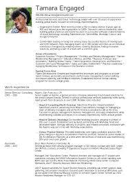 Senior Engagement Manager Resume Sample Resume Samples Career