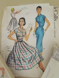 50s Style Dress Patterns New Design