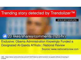Image result for the daily wire Obama Administration Knowingly Funded a Designated al-Qaeda Affiliate