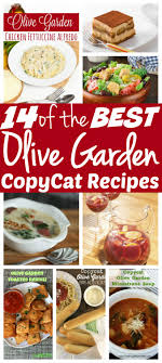 14 of the best olive garden copycat recipes