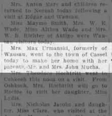 Wausau Daily Herald from Wausau, Wisconsin on May 11, 1916 · 3