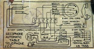 wiring diagram for l handset wiring diagram and schematic radio and television collectables in colour black sub type rotary