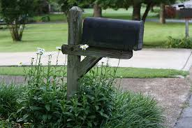 How to Repair a Leaning Mailbox Post Estes Designs Mailboxes and