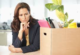 are you in danger of getting fired or laid off fired businessw a box of belongings