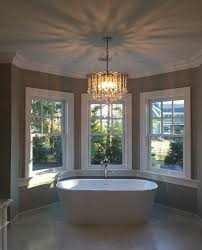 platinum electrical services bathroom chandelier installation in ham new jersey