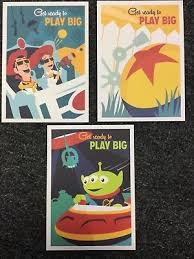 Grand Opening Postcards Disney Toy Story Land 2018 Grand Opening Postcards Disney World