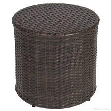 2018 outdoor wicker rattan barrel side table patio furniture garden backyard pool from hongxinlin21 50 26 dhgate com