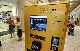 Gold Vending Machine Dubai Interesting Gold Bars Lingofacts
