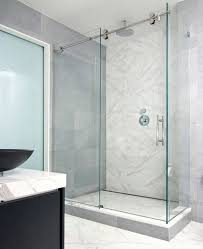 entranching shower stall glass doors of sliding door enclosures for the contemporary bathroom