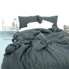 washed linen duvet cover charcoal grey duvet cover dark grey bedding sets charcoal dark grey stone