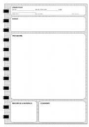 unit planner template for teachers english teaching worksheets lesson plans