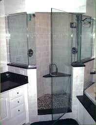 shower glass panel half wall glass shower panels with shower door with frame two half wall shower glass panel half wall