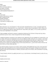 Cover Letter For Library Assistant Job Library Assistant Cover