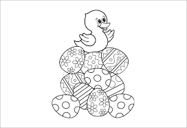 And here are the chicks. 21 Easter Coloring Pages Free Printable Word Pdf Png Jpeg Eps Format Download Free Premium Templates