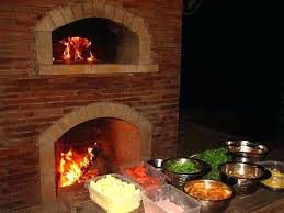 pizza oven outdoor fireplace combo brick with under a hut plans decor pizza oven outdoor fireplace