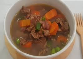 Taburan daun bawang dan bawang goreng tentu akan menambah kenikmatan sup yang citarasanya begitu gurih ini. Resep Sup Kacang Merah Daging Sapi Brenebon Oleh Susilestaa Cookpad