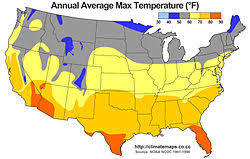 Climates Climate Of The United States Wikipedia