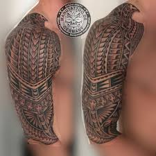 Polynesian Inspired Tattoo Freehand By Manu At Manu Tattoo In