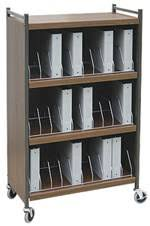 Mobile Chart Rack Mobile Cabinet Style Chart Rack 30 Binder Capacity