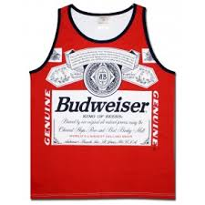 Boozin' Tops Gear Logo Beer Tank Brand Tanks Men's