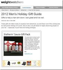 slather brands weight watchers features slatherin sauce in holiday gift guide