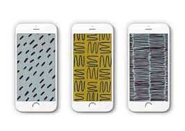 free patterned iphone wallpaper scout