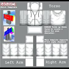 Roblox R15 Shirt Template Transparent Roblox Shirt Template Jacket Template Beautiful Template