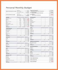 5 Free Budget Forms Andrew Gunsberg