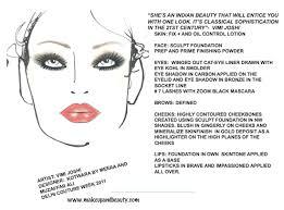 Mac Makeup Face Charts At Kotwara By Meera And Muzaffar Ali