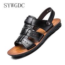 <b>SYWGDC Men</b> Pointed Toe Dress Shoes <b>Men Genuine Leather</b> ...