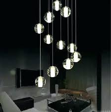 multi light pendant chandelier new modern led crystal lamp linear lightin