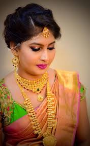 makeup and hairstyle by vejetha for s studio pink lips