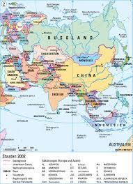 Asien: länder - geografispel