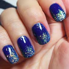 Cute nail designs with blue nail polish - how you can do it at ...