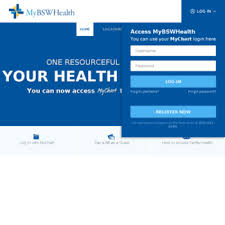 My Bsw Health My Chart Mychart Sw Org At Wi Home Mybswhealth