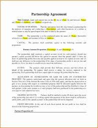 Domestic Partnership Agreement Domestic Partner Agreement Sample Unique Partnership Agreement Form 19