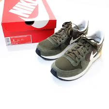 Green Nike Lunar Internationalist Running Rubber Sneakers Sneaker Shoes Size Us 9