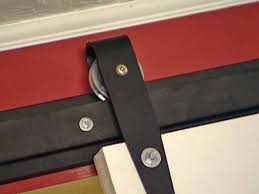 How to Hang an Interior Barn Door Track System   how-tos   DIY