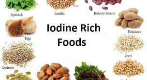 Iodine Levels In Food Chart Iodine Rich Foods Foods High In Iodine Iodine Rich Foods